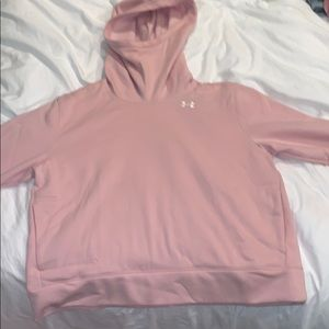 Under Armour Tops - Blush Under Armour Turtleneck Hoodie